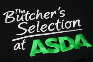 Asda logo embroidery