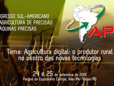 Ocorrerá no Rio Grande do Sul mais uma Edição do Maior Evento de Agricultura de Precisão da América