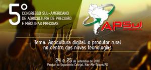 Figura 1: Folder veiculado no site do APSul América, sob organização da Prefeitura Municipal de Não-Me-Toque/RS, Sindicato Rural, Farsul, UFSM e Cotrijal.