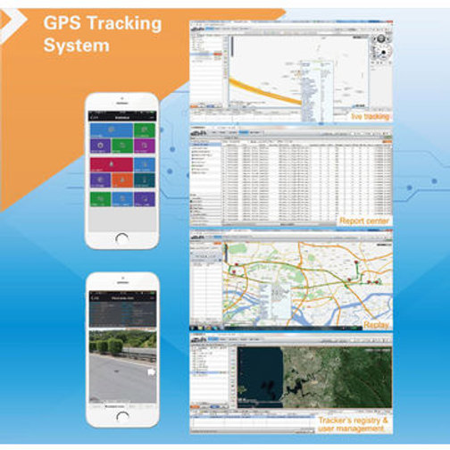 GPS tracker can be used on Traccar, GPSWOX platform | 7Kingsenses