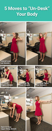 """5 Stretches to """"Un-desk"""" Your Body"""