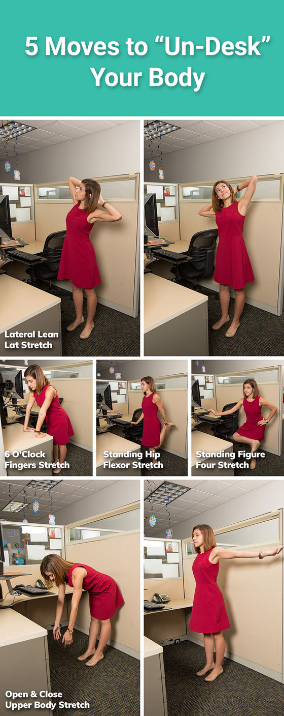 "5 Stretches to ""Un-desk"" Your Body"