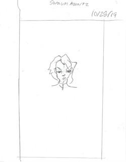 SAM- PORTRAIT OF BATTLE ANGEL ALITA