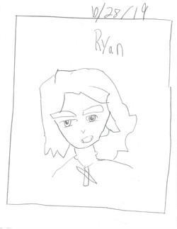 RYAN- PORTRAIT OF BATTLE ANGEL ALITA