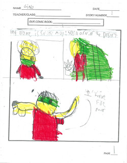 GINO- COMIC PAGE 1