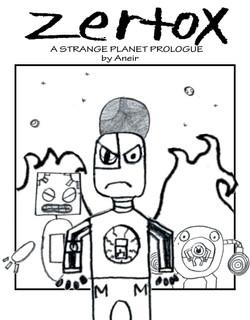 ANIER COMIC COVER