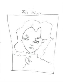 ZAID- PORTRAIT OF BATTLE ANGEL ALITA