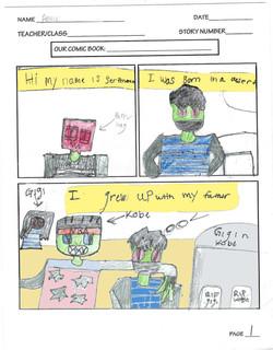 AMIR- COMIC PAGE 1