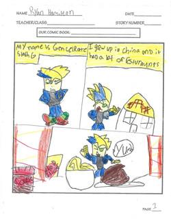 RYAN- COMIC PAGE 1