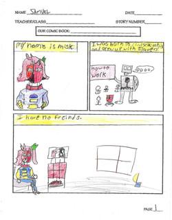SAMUEL- COMIC PAGE 1