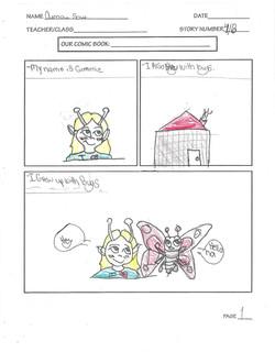 OUMOU- COMIC PAGE 1