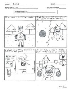 ANIER COMIC PAGE 1