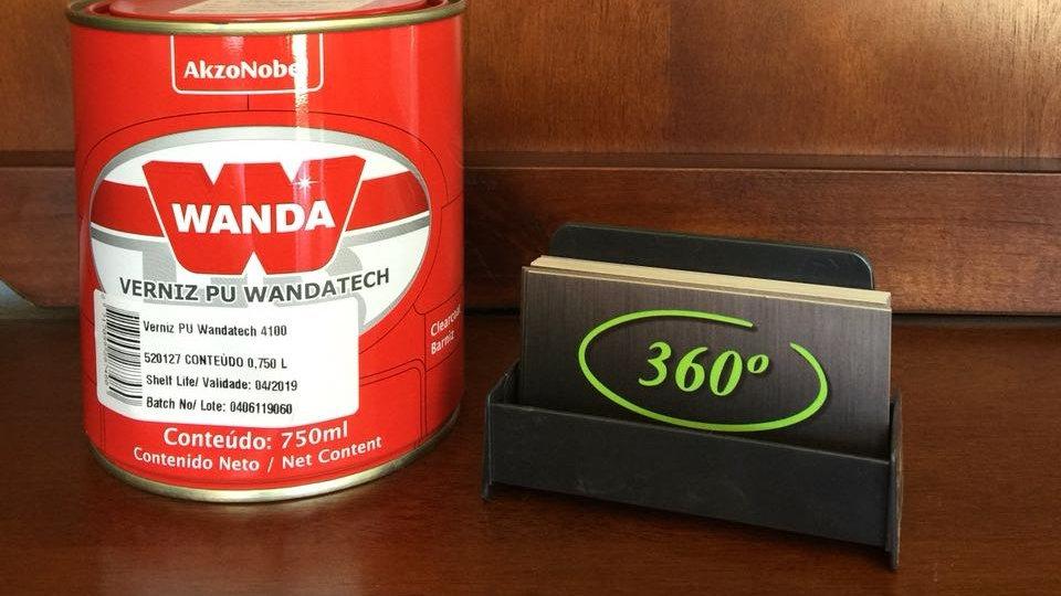 """Verniz Pu Wanda tech 4100 """"Clearcoat"""""""