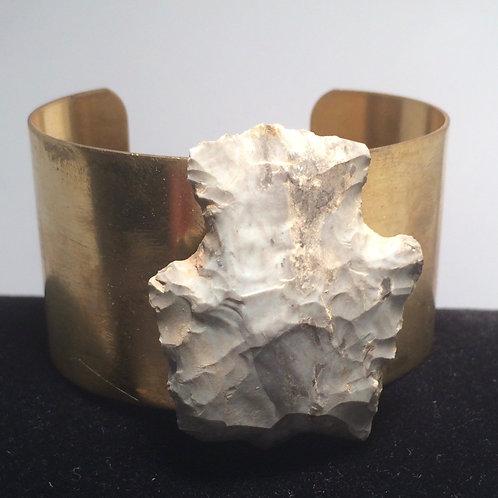 Geode Brass Cuff