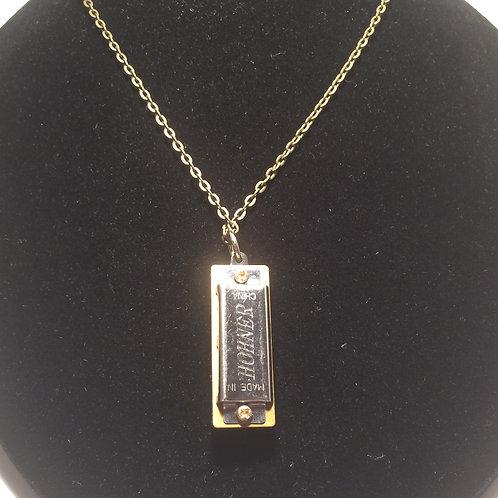 Harmonica necklace