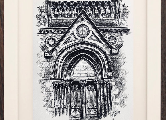 St Patrick's College Cathedral doors
