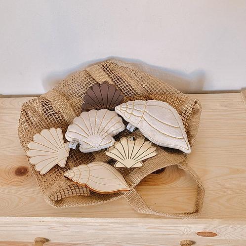 Hochets Coquillages et crustacés