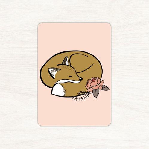 Carte postale Renarde