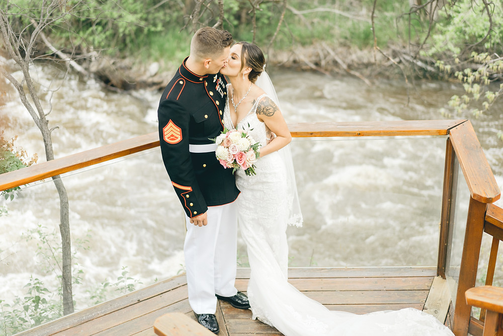 Wedgewood Boulder Creek May wedding