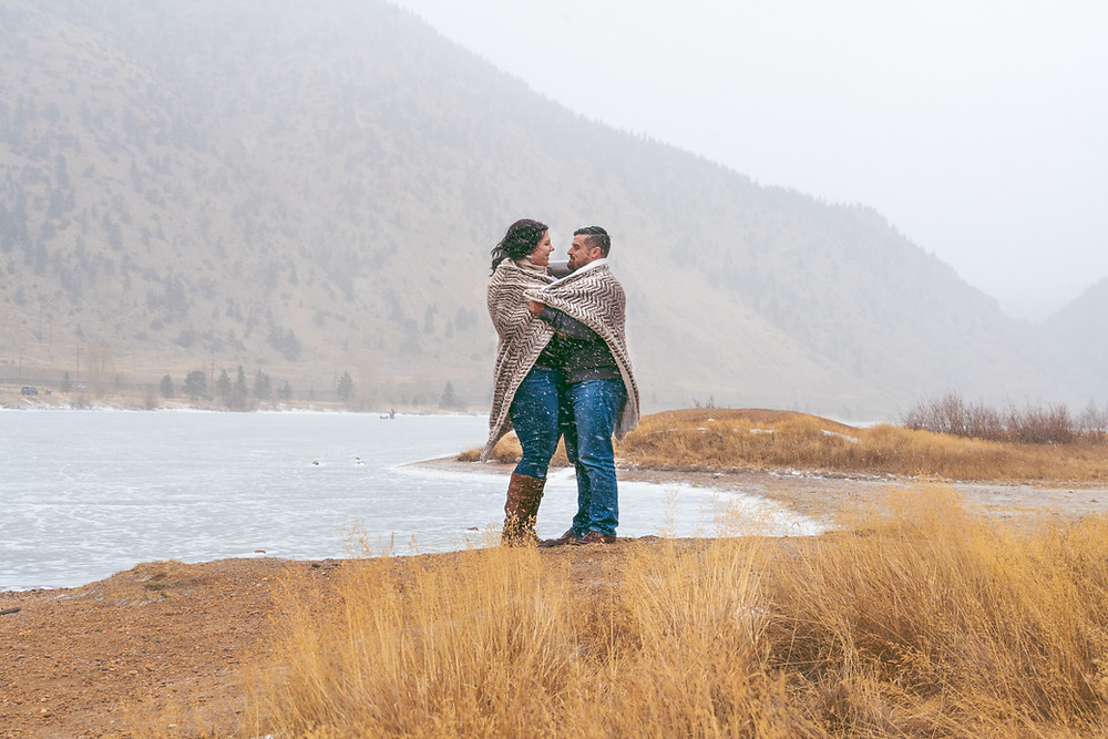 Engagement photographer in Golden, Colorado