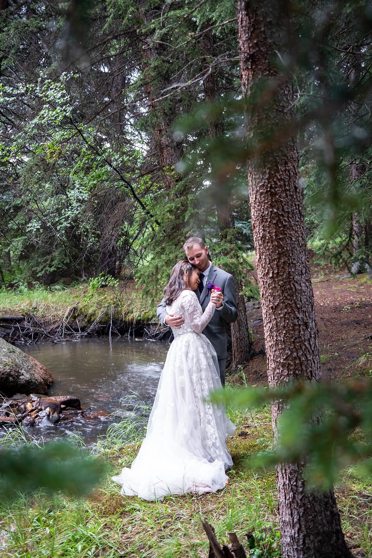 Wedding photographer at Wedgewood Weddings Mountain View Ranch