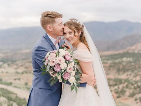 Skyline Drive/Cañon City Backyard Wedding | Photo Feature