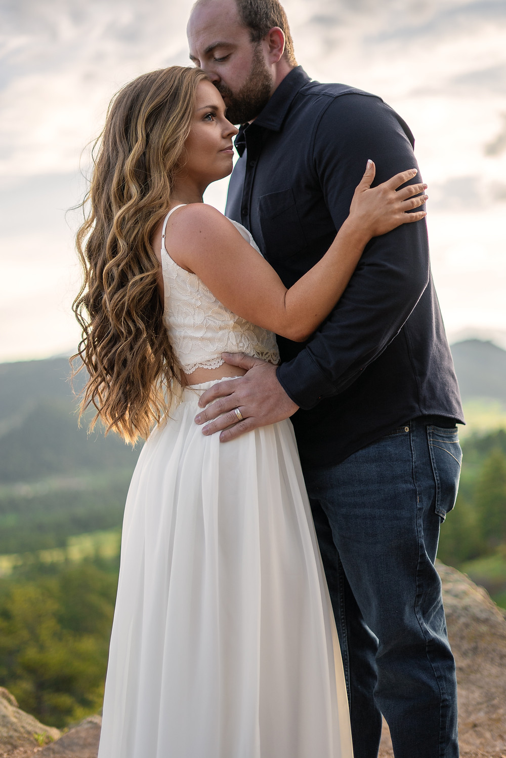Engagement photographer at Morrison, Colorado