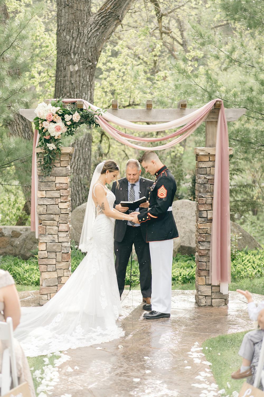 Wedgewood Boulder Creek spring wedding photos