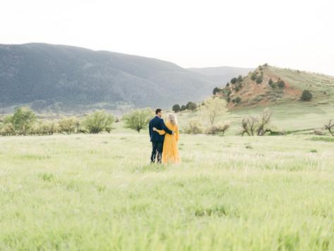 Sandstone Ranch Open Space - Larkspur Engagement Shoot