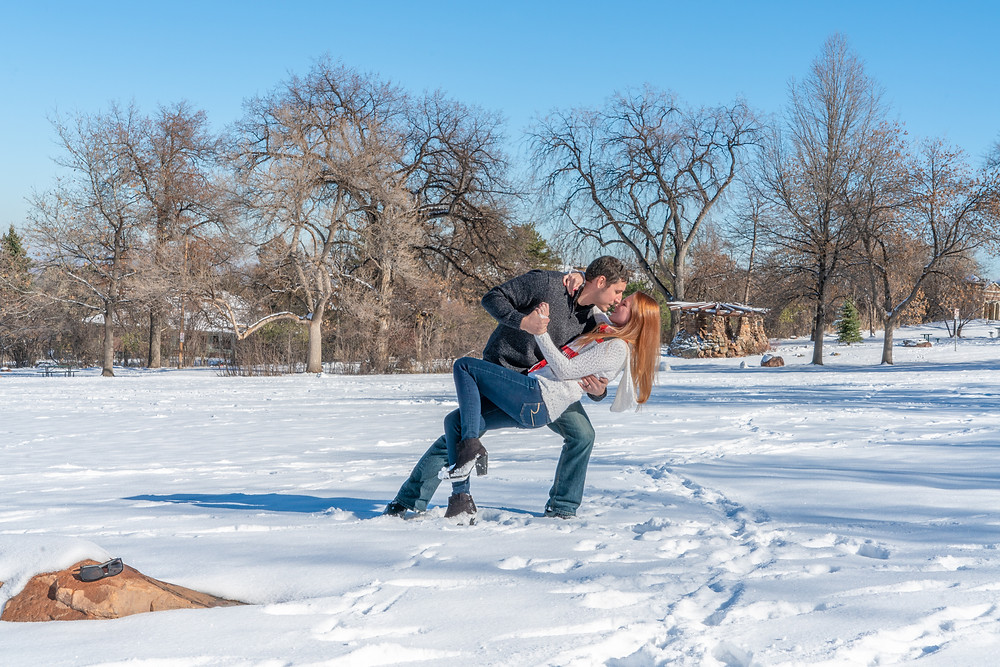 Engagement photographer in Boulder, Colorado