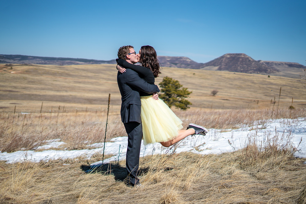 Engagement photographer in Colorado Springs, Colorado