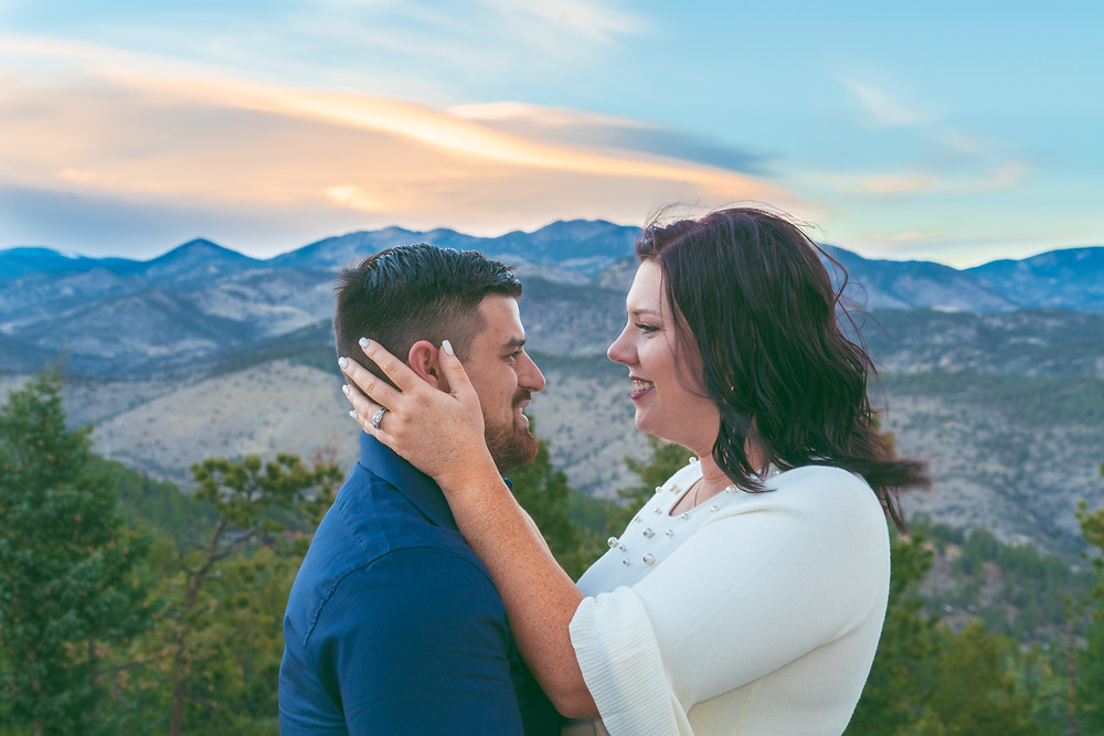 Engagement photographer at Golden, Colorado