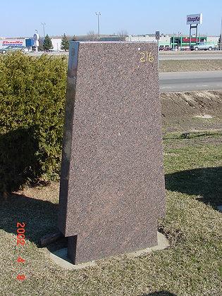 #0216 Custom Mahogany Monolith