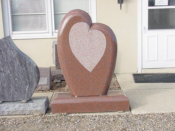 #1241 Rosebud Heart