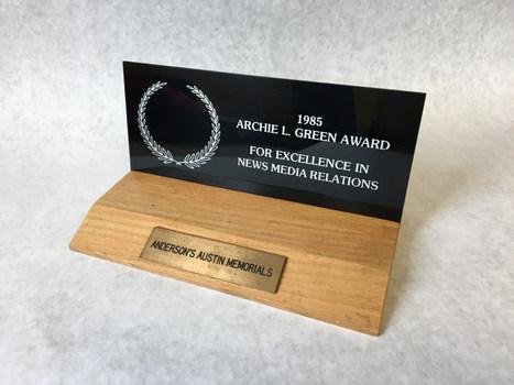 1985 Archie L. Green Award