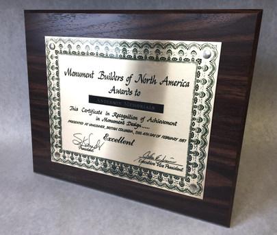 1987 Achievement in Monument Design