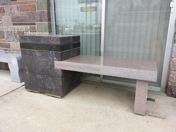 #1564 Cremation Bench
