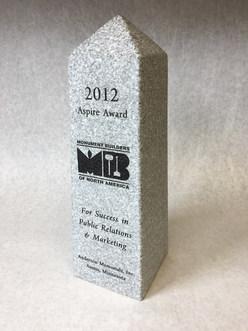 2012 Aspire to Success Award