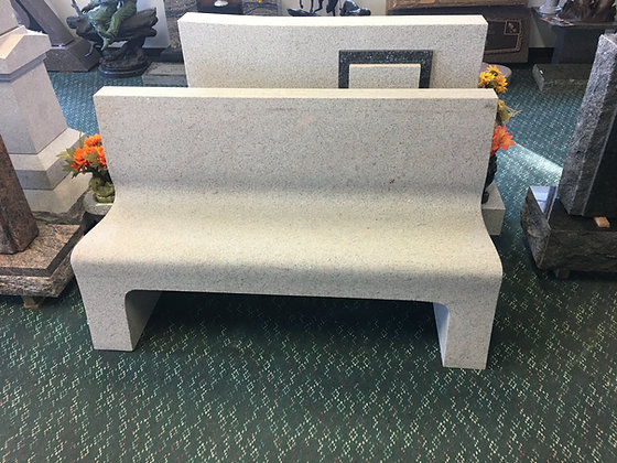 Solid Granite Bench