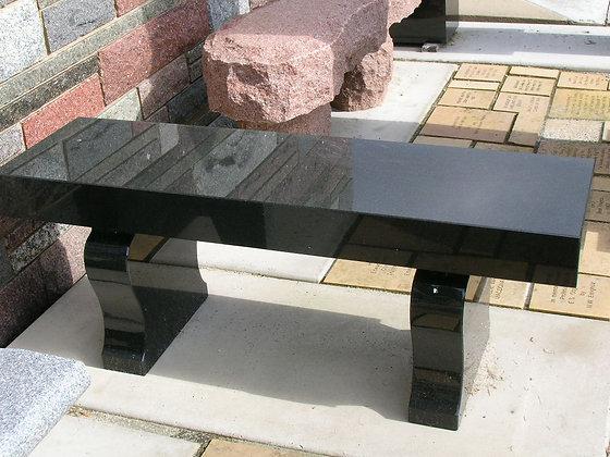 #1339 Black Bench