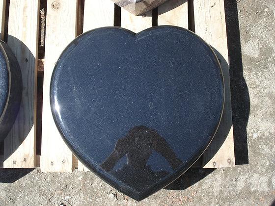 #1476 Jet Black Heart Marker