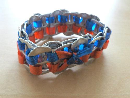 Bracelet languettes de canettes
