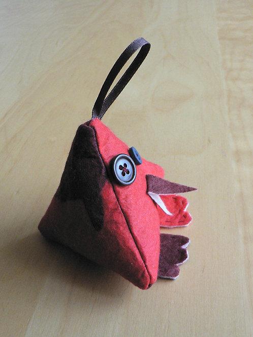 Oiseau pyramide à suspendre