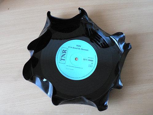 Vide-poche en disque vinyle
