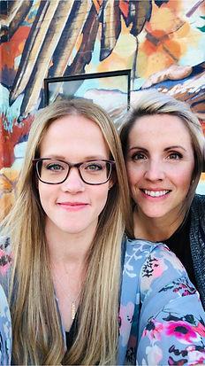 Angela Leonard and Leanne Mulder Social Curve Website design