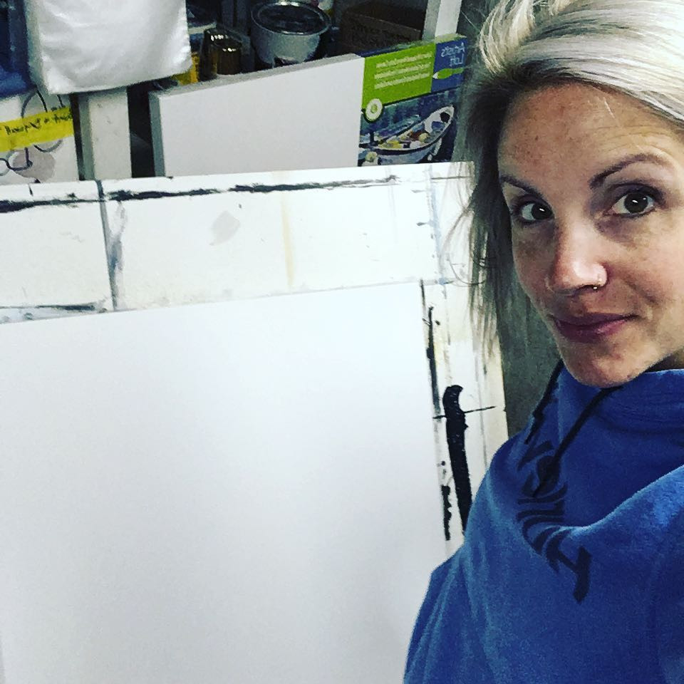Angela Leonard kootenay abstract artist