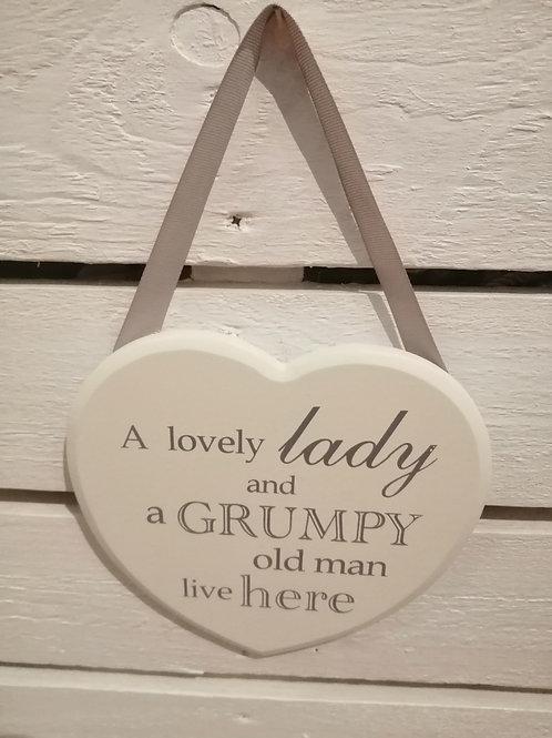 Grumpy Old Man Plaque