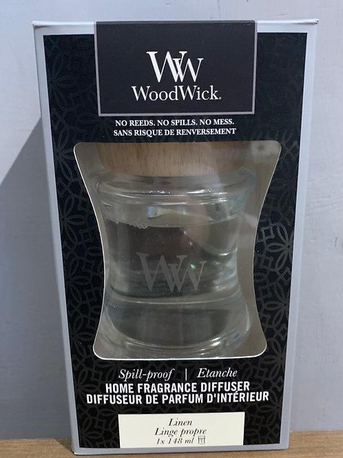 Linen Woodwick  Diffuser - non spill