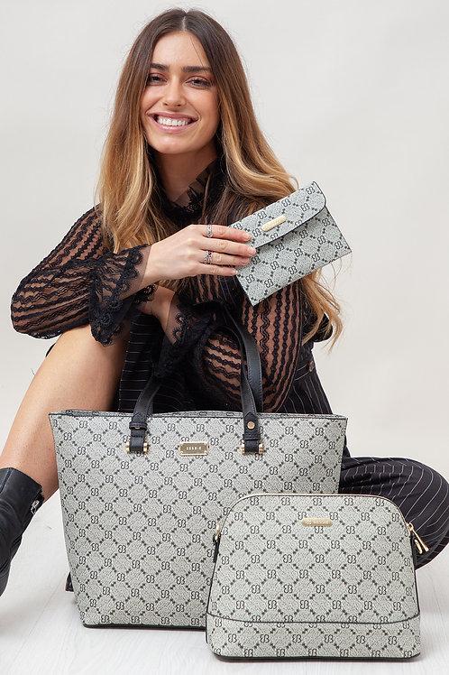 Bessie 3 Piece Shopper Bag Set
