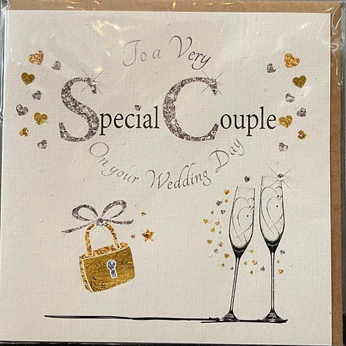 Special Couple Wedding Day Card